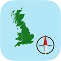 GB Grid Ref Compass app store icon