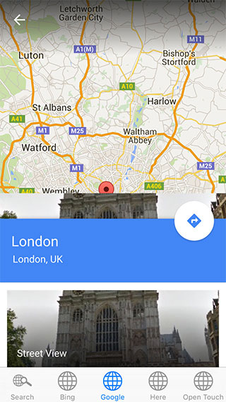 Many Maps Lite iPhone 5 App image