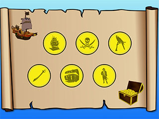 Pirate Treasure Hunt iPad App image 1