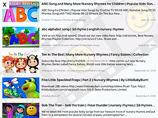 Toddler Tube Lite iPad App image 1
