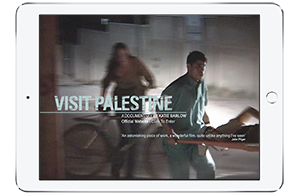 Visit Palestine website screenshot