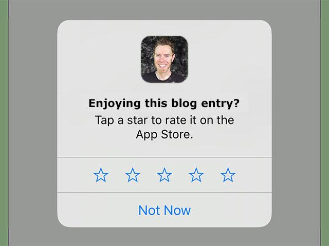 App Ratings via requestReview()