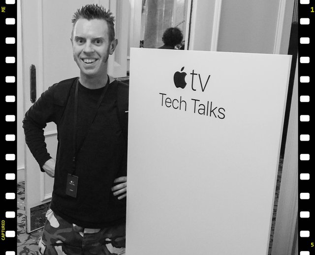 Mike Irving at the Apple TV Tech Talks, London