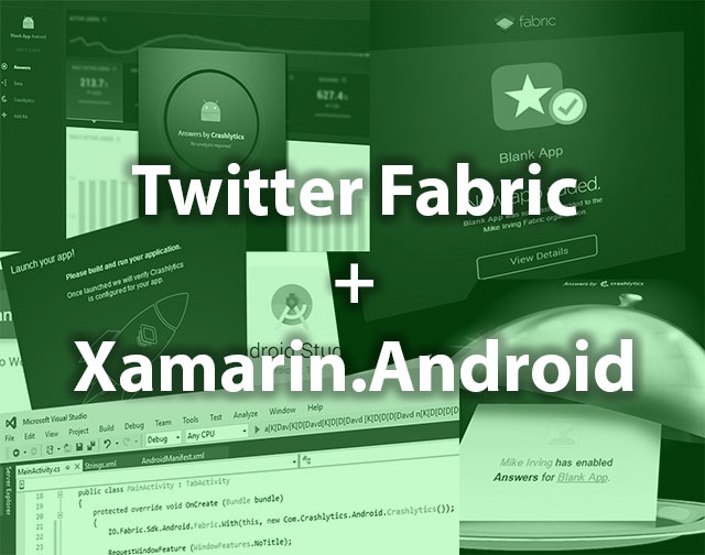 Crashlytics, Answers in Xamarin.Android