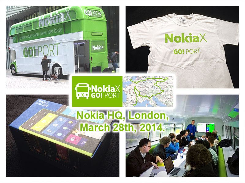Nokia X - Go! Port - London 2014