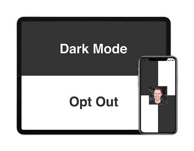 Opting Out of iOS 13 Dark Mode