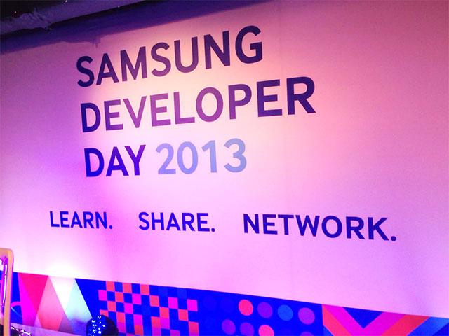 Samsung Developer Day 2013 - Learn. Share. Network.